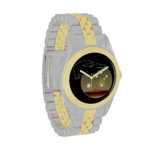 Aussie Croc Icon Two Tone Watch