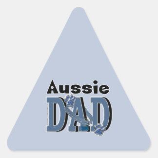 Aussie DAD Triangle Sticker