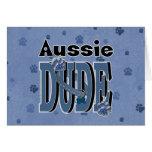 Aussie DUDE Greeting Card