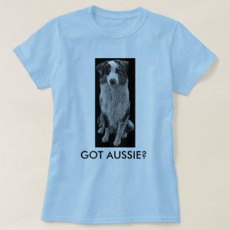 aussie ellos got tshirt, australian shepherd playeras