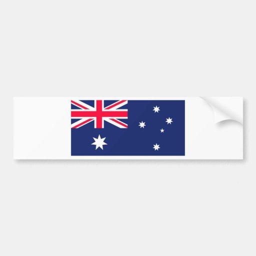 AUSSIE FLAG BUMPER STICKER