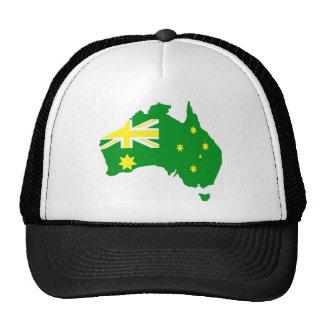 Aussie Flag Map Trucker Hat