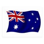Aussie flag post cards
