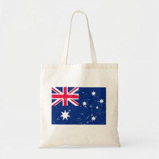 Aussie flag tote bag
