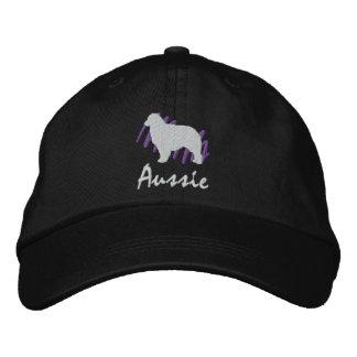 Aussie garabateado gorra bordada