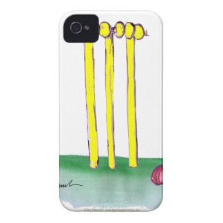 aussie golden cricket bails, tony fernandes iPhone 4 case