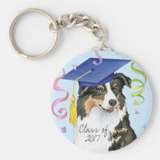 Aussie Graduate Keychain