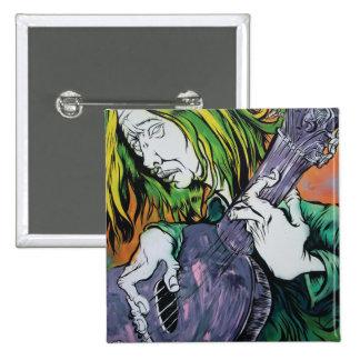 Aussie Hippie Pinback Button