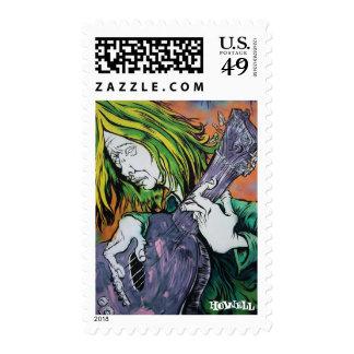 Aussie Hippie Postage Stamps