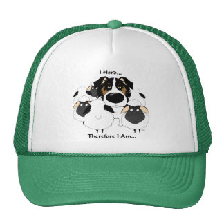 Aussie - I Herd Therefore I Am Trucker Hat