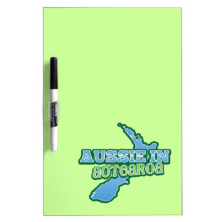 Aussie in Aotearoa (NEW ZEALAND) Dry-Erase Board
