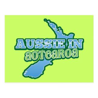 Aussie in Aotearoa (NEW ZEALAND) Postcard