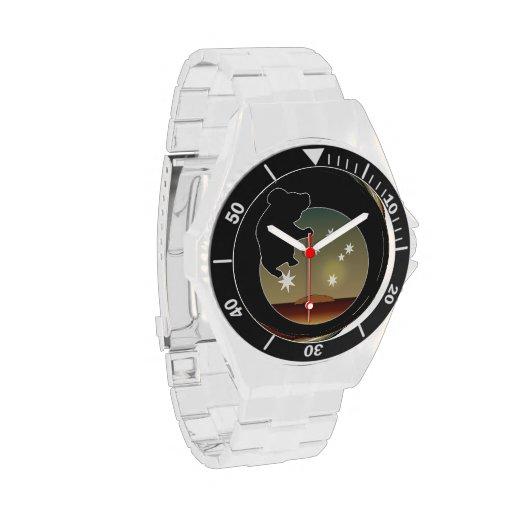 Aussie Koala Icon Classic Stainless Steel Watch