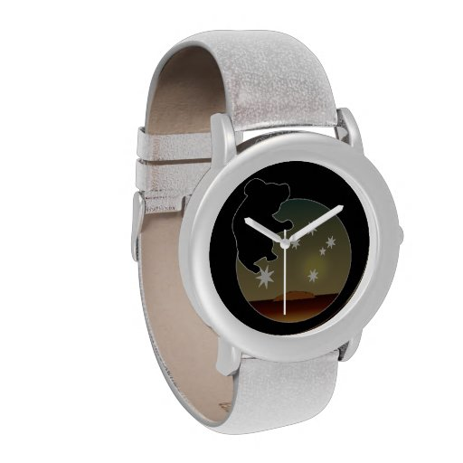 Aussie Koala Icon eWatchFactory Glitter Watch