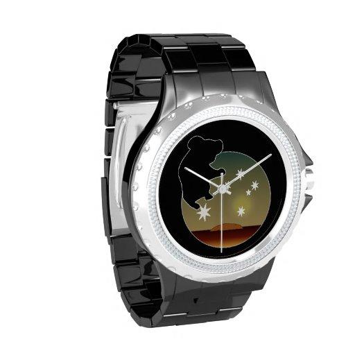 Aussie Koala Icon eWatchFactory Rhinestone Watch