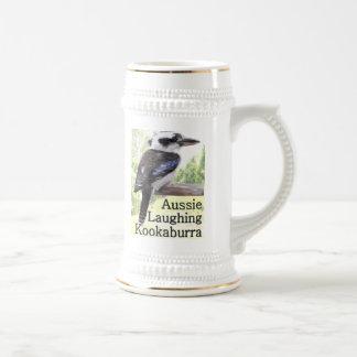 Aussie Laughing Kookaburra Beer Stein