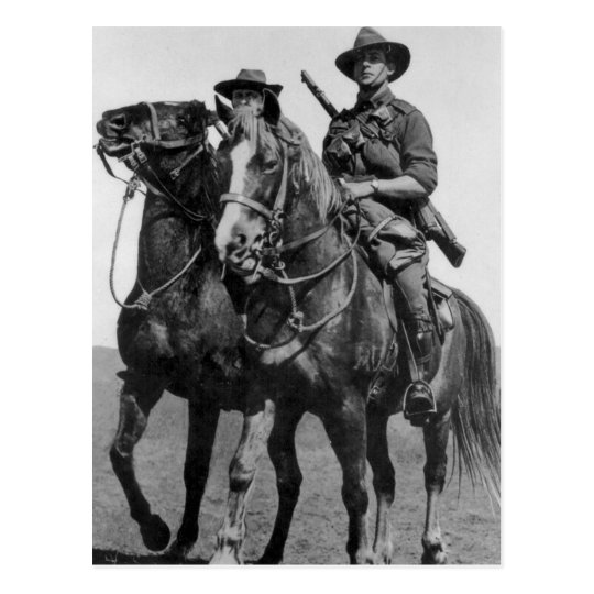 Aussie Light Horse Postcard