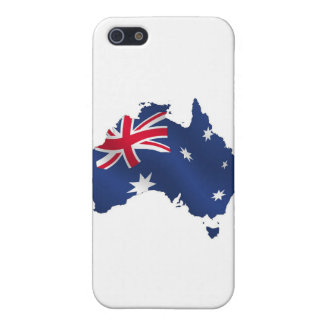 Aussie map flag covers for iPhone 5