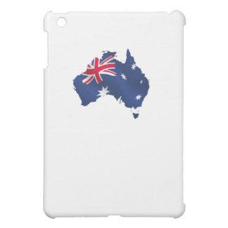 Aussie map flag iPad mini cover