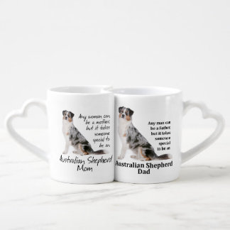 Aussie Mom and Dad Mugs