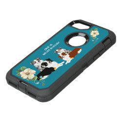 OtterBox Apple iPhone 7 Symmetry Case with Australian Shepherd Phone Cases design