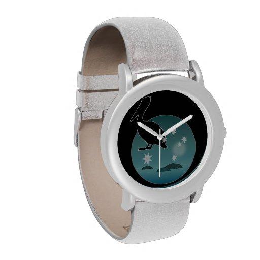 Aussie Pelican Icon eWatchFactory Glitter Watch