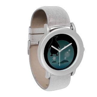 Aussie Penguin Icon Glitter Watch