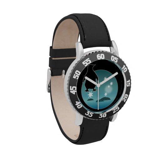 Aussie Penguin Icon Kids Adjustable Bezel Watch