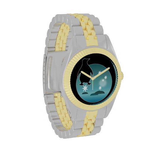 Aussie Penguin Icon Two Tone Watch