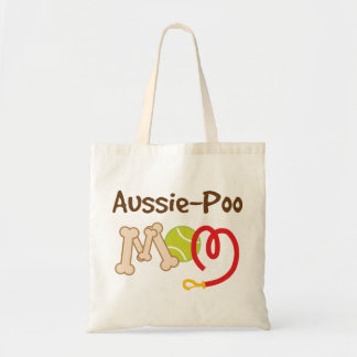 Aussie-Poo Dog Breed Mom Gift Tote Bag