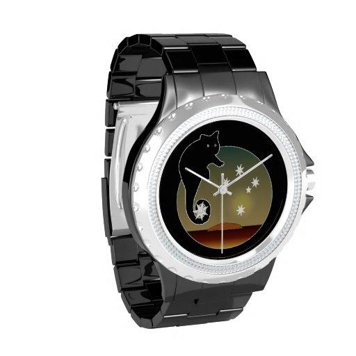 Aussie Possum Icon eWatchFactory Rhinestone Watch