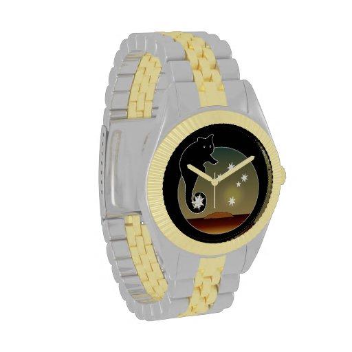 Aussie Possum Icon Two Tone Watch