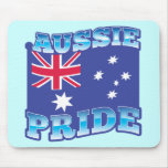AUSSIE PRIDE with an Australian Flag Mouse Pads