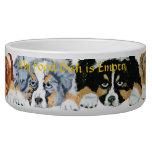 Aussie Puppies 4 Colors Pet Food Bowl