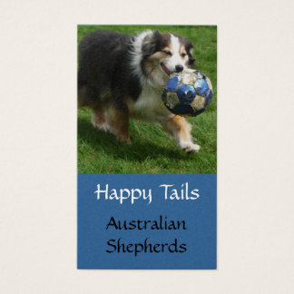 Aussie Puppy Breeding  Business Card