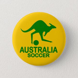Aussie soccer green button