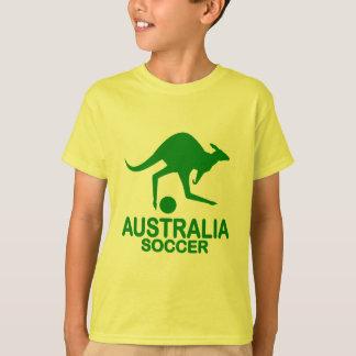 Aussie soccer green T-Shirt