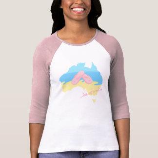 Aussie Summer - Female T-Shirt