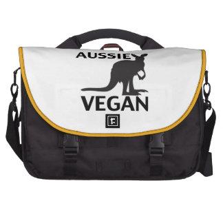 Aussie Vegan Laptop Messenger Bag
