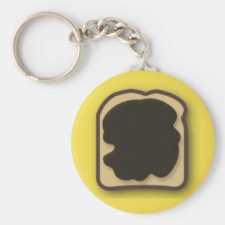 Aussie Yeast Extract on Toast Keychain