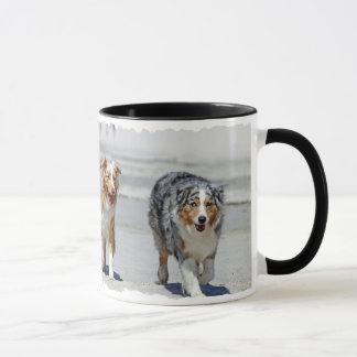 Aussies - 1st Day of Summer Beach Stroll Mug
