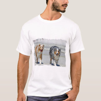 Aussies - 1st Day of Summer Beach Stroll T-Shirt