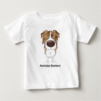 Aussies - Big Nose and Butt Baby T-Shirt