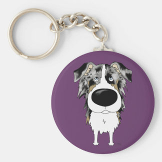 Aussies - Big Nose and Butt Keychain