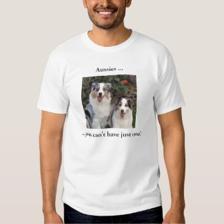 Aussies Just One 2 Tee Shirt