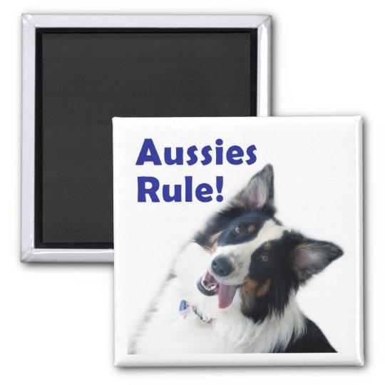 Aussies Rule Magnet