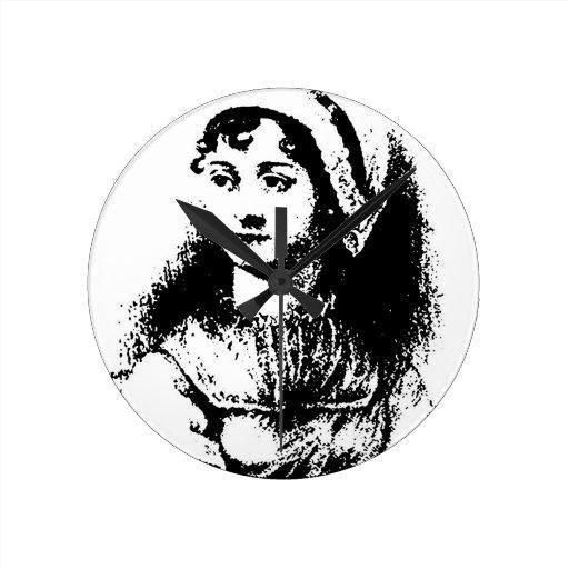 Austen Round Clocks