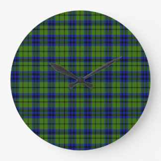 Austen Scottish Tartan Large Clock