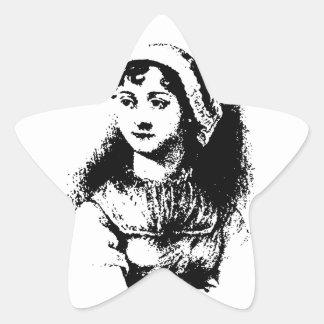 Austen Star Sticker