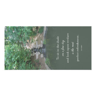 Austen Water Fall Pond Notecard Card